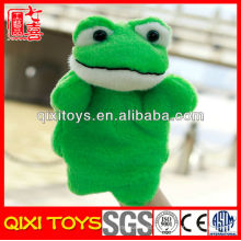 Plush Frog Cheap Hand Puppet para la venta Frog Hand Puppet