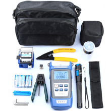 FTTH Assembly Optic Tool Kit Fiber Optic Termination Tool Kit FTTH Splicing Fiber Optical power meter Tool Kits