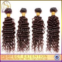 2015 Горячая Глубокая Волна Волос 24 Дюймов Человеческих Плетение Волосы
