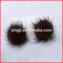 mink fur balls for hat/keychain/shoe