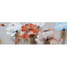 Impressionism Craft Flower Oil Painting