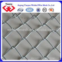 2015 most hot sell green color pvc coated chain link fence