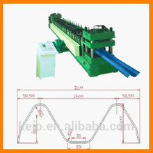 High Quality Two waves guard bar plate making roll forming machine /highway guardrail roll forming machine