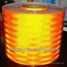 ПЭТ 50cmx45m красочные высокая видимость самоклеющиеся пластиковый Светоотражающий лист