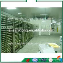 Secador de túnel SSJ / Bandejas de desidratação de aço inoxidável