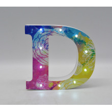 Beautiful and Colorful MDF LED Decoration Light
