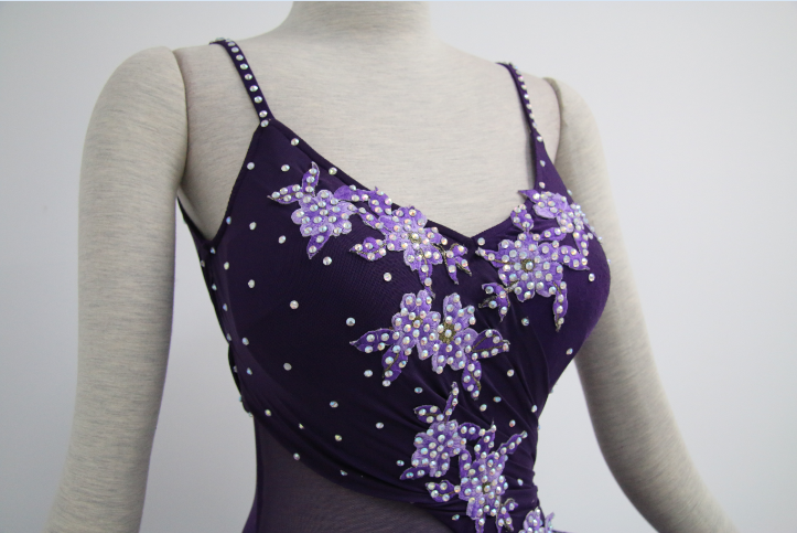 Purple Dance Competition Costumes