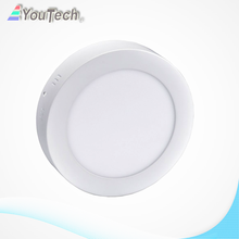6w 480lm round led panel light