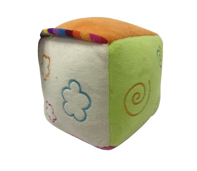 Plush Toy Of Soft Dice