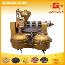 Expulsor automático del aceite de soja de la máquina del aceite modelo Yzlxq140