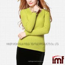 Мода мериносовой шерсти женщин кабель трикотажные ткани свитер ткани