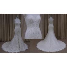 Sirène robe de réception de mariage