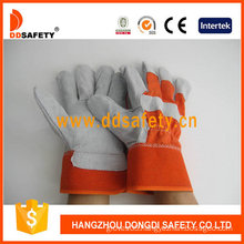 Cow Split Leather Welder Working Gloves (DLC210)