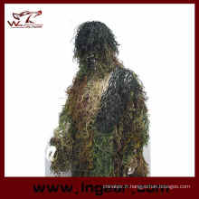 Chasse Airsoft Ghillie costume costume de Ghillie tactique à vendre