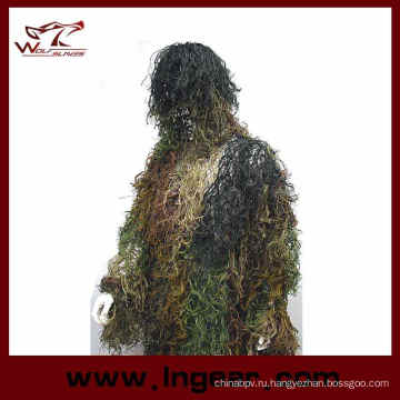 Охота Airsoft Ghillie костюм тактические Ghillie костюм для продажи