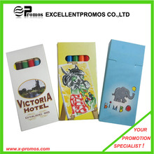 Werbeartikel Hexagonal Kinderfarben Bleistift in farbiger Schachtel (EP-P9076)