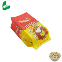 Bolsa de papel de palomitas de maíz de microondas a prueba de grasa de papel kraft