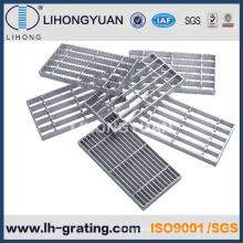 Las pisadas de escalera de acero galvanizada para escalera exterior