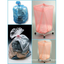 """26 """" X 33 """" Pva 100% Water Soluble Laundry Bag With Top Drawstring For Hospital"""