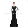 Elegant Long design Evening Dresses floor length sequins black sexy long eveing dress 2018