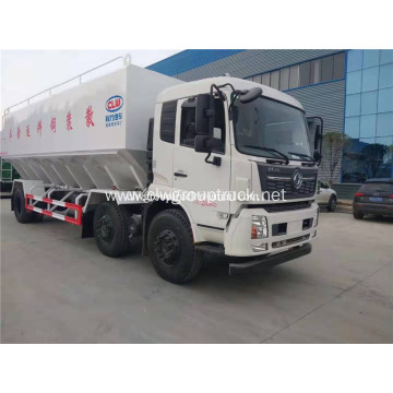 Dongfeng 6x2 Bulk Feed delivery tank truck