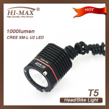 Nice Well Bike Light 1000 lumens Meilleur LED Bike Lights de Chine