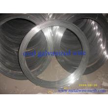 Alambre de acero galvanizado ovalado 2.2mmx2.7mm para la cerradura de la granja