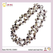 2013 Fashion Jewellery, Pearl Necklace, Crystal Necklace