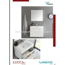 2017 Desing Simple Ekonomic Bathroom Vanity with Invisible Drawer Cabinet