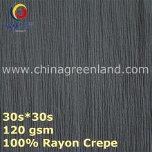 Rayon Crepe Cotton Fabric for Costume Textile (GLLML439)