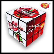Precio barato Buena Calidad Promocional Magical Toy Inteligencia Juguetes Cubos mágicos de anuncios