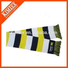 2015 Heiße Verkaufsmänner striped China-Großhandelsstrickte Schal