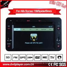 Auto DVD Spieler Alfa Romeo 159 / Spider / Brera DVD Navigation