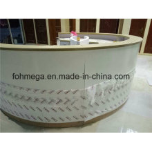 Half Round Customized Solid Surface Cashier Counter (FOH-SSC1)