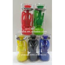 La Chine narguilé usine plastique Silicone coloré petite Shisha