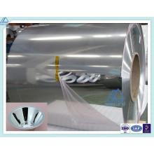1070/1100 Aluminio / aluminio brillante / pulido / bobina de espejo para la industria de iluminación