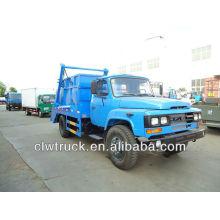 Dongfeng 140 contenedores camión de basura