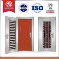 Puerta de puerta de diseño durado puerta de acero inoxidable puerta de diseño de acero puerta americana