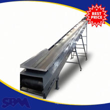 Mining industry used belt conveyor with hopper with capacity 100-1400mm
