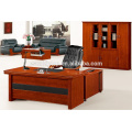 Office antique table with movable pedestals
