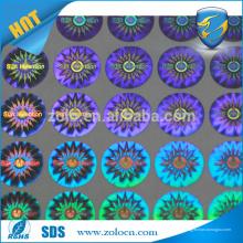 Proteção de marca de alta qualidade Shenzhen ZOLO customize sticker