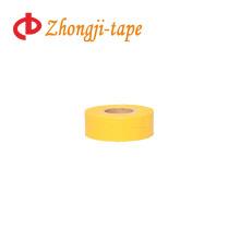 common yellow flagging tape