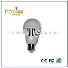 7W led Kunststoff Lampe, led Kunststoff Glühbirne