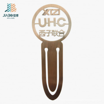 Top Selling Brass Hollow out Wholesale Custom Metal Bookmark