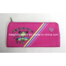 Pink 2.5mm Neoprene Pencil Cases for Children