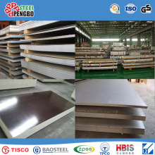 Лист ASTM tp304 Нержавеющая сталь с SGS