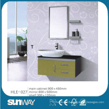 Mirrored Vanity Furniture Stainless Steel China Bathroom Cabinet