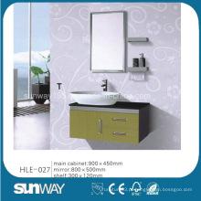 Móveis de vaidade espelhada Aço inoxidável China Gabinete de banheiro