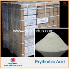 Acide érythorbique de qualité alimentaire antioxydants (CAS: 6381-77-7)