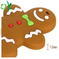 Cute Bear Cookie Teething Toys Silicone Infant Teether